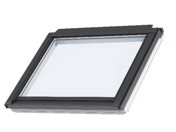 Fenêtre fixe pour verrière plane GIL 2057 tout confort SK34 114x92cm
