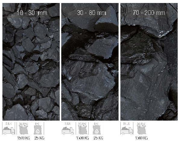 Paillage minéral ardoise noire 30/80 mini bag 250 kg