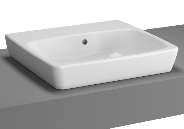 Vasque METROPOLE Blanc 50x46cm