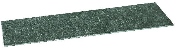 Dalle pierre naturelle BLACK BASALT flammée brossée 60 40cm Ep.20mm
