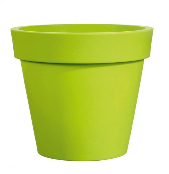 Pot EASY vert Ø130cm polyéthylène H.120cm