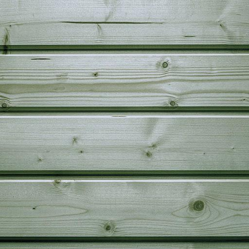 Bardage épicéa autoclave classe 3 vert élégie 21x135mm 3,30m