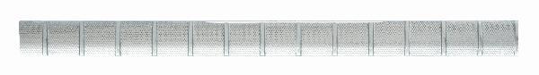 Listel MIROIR POINTILLE verre-alux60cm Ep.8mm