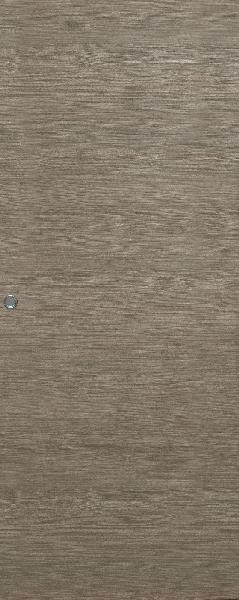 Porte FUJI gris galet 204x73 entaillage scrigno/doortech