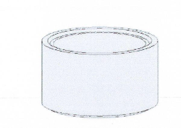 Réhausse béton pour regard Ø800 H.30cm avec échelon