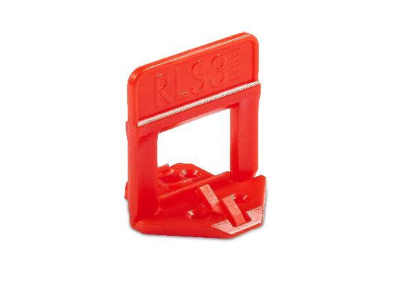 Base 3D pour carreaux jusqu'à 12mm RLS joint de 3mm sachet 500