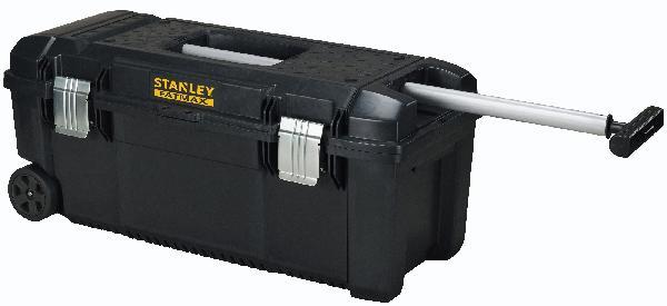 Boîte à outils étanche FATMAX + poignée télescopique et roulettes
