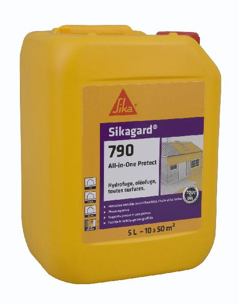 Protection hydrofuge oléofuge SIKAGARD 790 ALL-IN-ONE PROTECT bidon 5L
