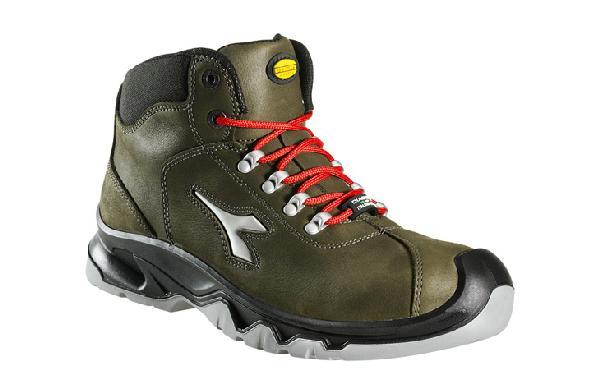 Chaussures de sécurité hautes DIABLO HI vert foncé S3 SRC CI T.45