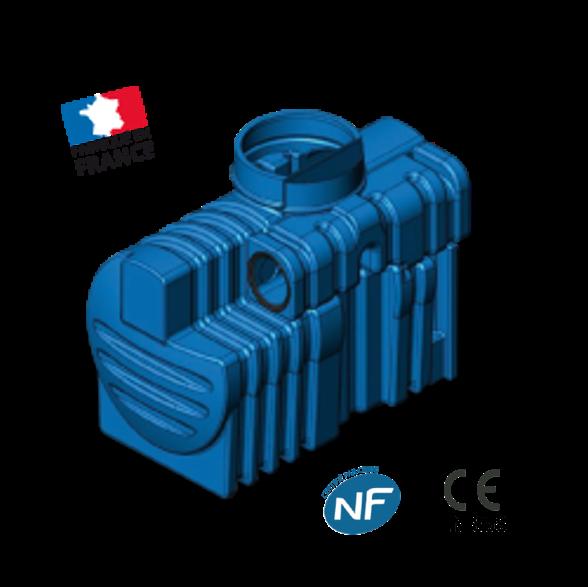 Séparateur PE à hydrocarbures SPEHDO 6 avec By Pass 30L/S TN 6 NF