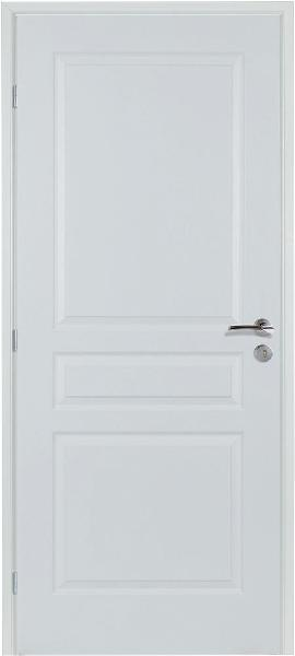 Bloc porte isolant 2.1 3 panneaux rec. 204x83 GP huis.sapin 68x58