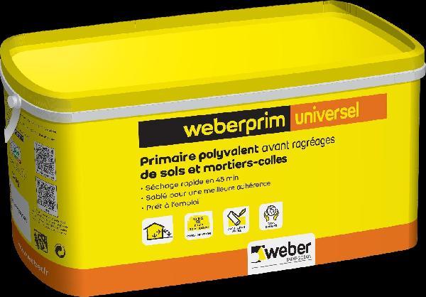 Primaire polyvalent WEBERPRIM UNIVERSEL 10kg