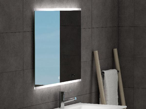 Miroir salle de bain led anti-buée SPOTY 80x65cm