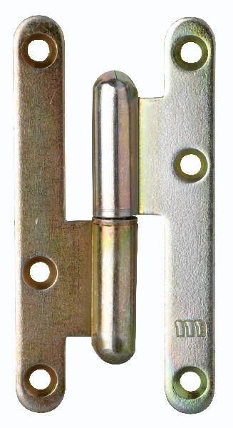 Paumelle PARIS gauche bichro 110 x 55mm