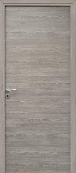 Bloc porte isolant FUJI rivD gris galet 204x83 DP KM1 cloison 72 à 110