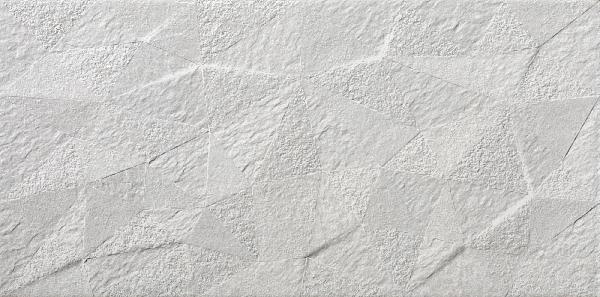 CARRELAGE BASALT ROCK BLANC RECTIFIE 29X59CM EP.10MM
