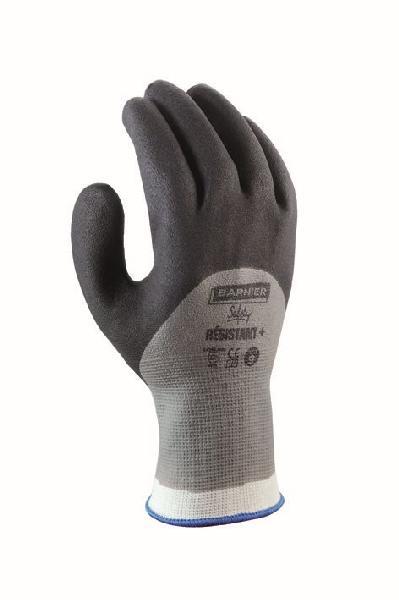Gants résistant + nylon gris/noir T.10