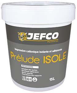 Impression isolante et adhérente PRELUDE ISOLE blanc 1L