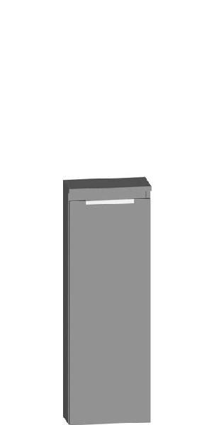 Armoire TEN 1 porte mélaminé chêne San Remo 35,7x104,3x17,4cm