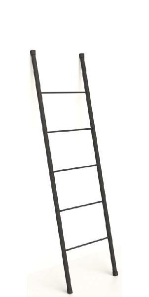 Echelle porte serviette STEEL noir 42x153