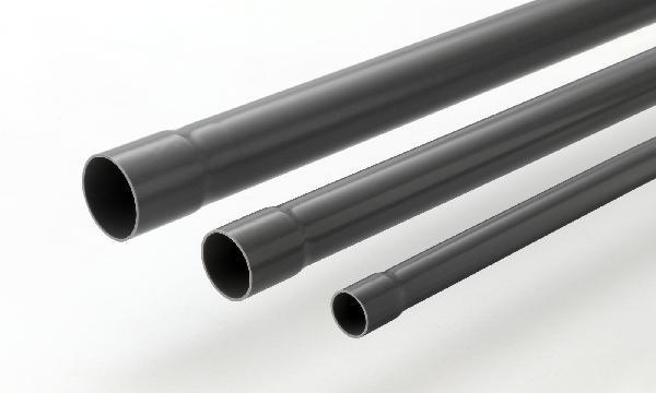 Tuyau PVC compact NF en 1329-1 NFe-NFMe Ø50x3mm 4m