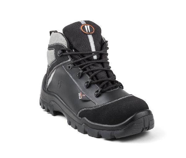Chaussures de sécurité hautes HOT PEPPER noir S3 AN HI CI SRC T.47