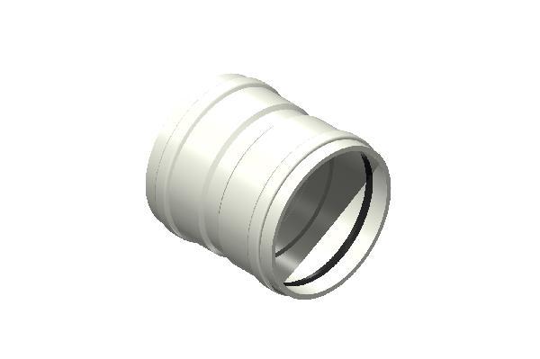Manchon à butée PP ECO+ PREMIUM SN12 Ø125mm FF