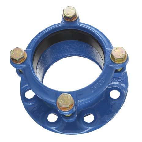 Adaptateur LP6 DN200 pour tuyau Ø192-215 ISO PN10-16