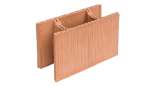 Brique de mur à bancher BàB 20 avec gorge 20x29,9x50cm R=0,20