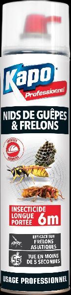 Foudroyant nids de guêpes et frelons KAPO aérosol 750ml