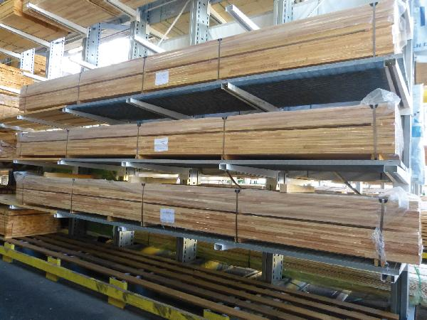 Carrelet bintagore/meranti 63x125mm 5,90m