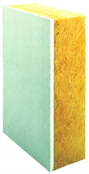 Doublage laine de verre calibel 10 80mm apv 260x120cm r 2 35 - Pare vapeur laine de verre ...