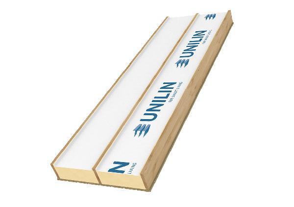 CAISSON CHEVRONNE TRILATTE PLUS 110/130 SOUS FACE PLATRE 330X80 R=5.0