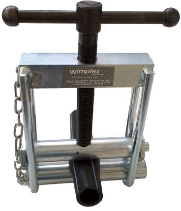 Ecrase tube pour tuyau PE Ø20-63