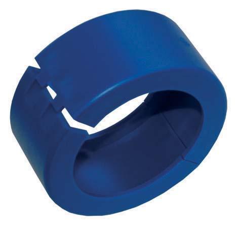 Bague bleue de plombage DN40 sans logo