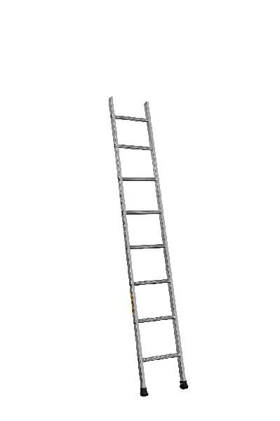 Echelle simple PRS alu 8 barreaux 2,35m