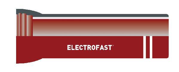 Tuyau fonte ELECTROFAST® DN080 5,5m complet Zinc pur 200g/m²