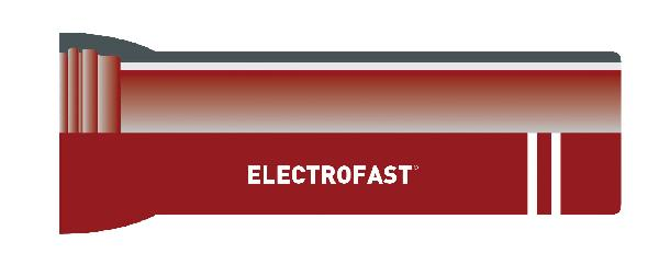 Tuyau fonte ELECTROFAST® DN200 5,5m complet Zinc pur 200g/m²