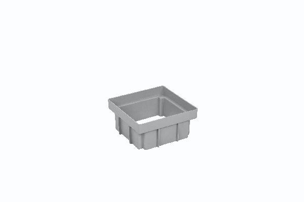 Réhausse PP PLUVAL gris H.100cm 210x210cm