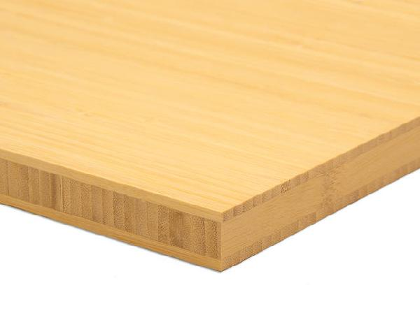 Panneau massif 3 plis bambou naturel VERTICAL 20x2440x1220mm