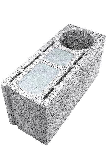 Bloc thermique à coller FABTHERM AIR 1,8 angle 20x25x50 L40 CE+NF