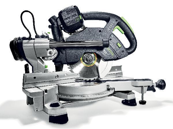 Scie à onglet radiale 1200W KAPEX KS 60 E-UG-Set