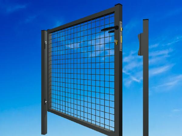 Portillon plastifié GARDEN 1x2m anthracite
