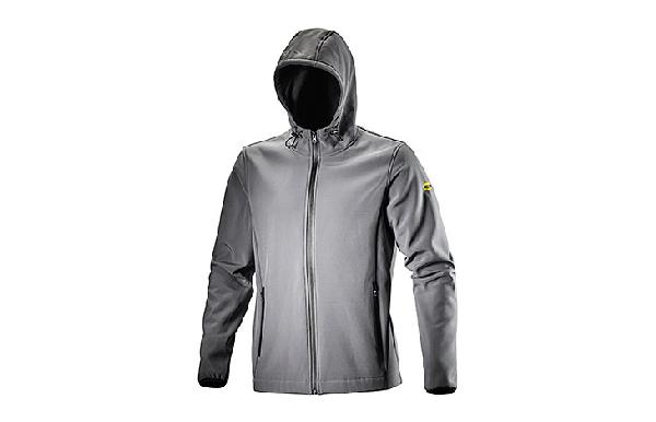 Veste softshell LEVEL gris métal T.L