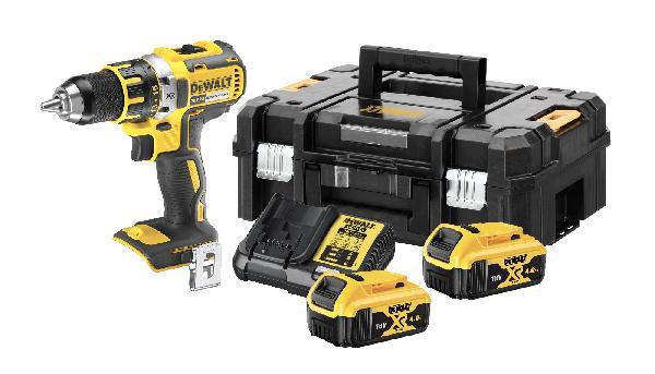 Perceuse-visseuse 18V 4Ah + 2 batteries coffret