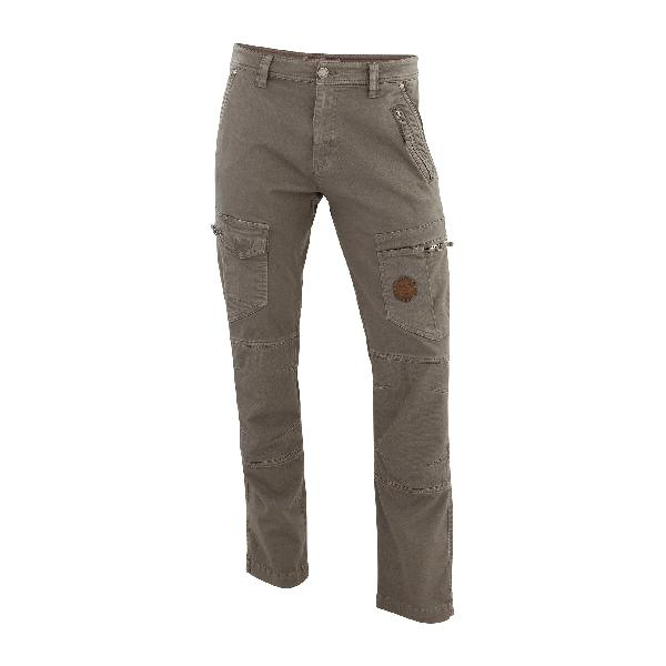 Pantalon multipoches gris T.40