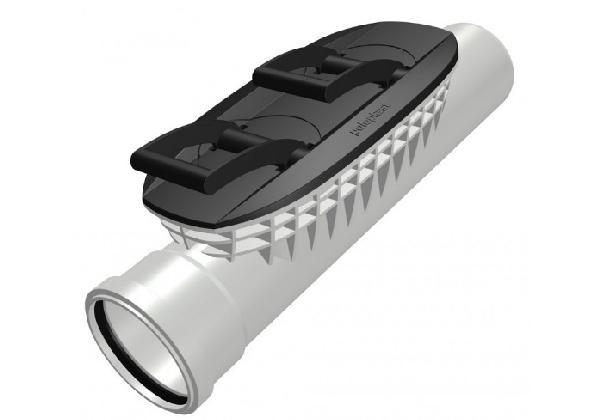 Tube PP de nettoyage POLO EHP CONTROL pour ECO PLUS PREMIUM Ø125mm
