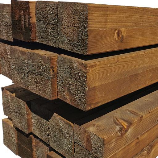 Poutre contre-collée pin autoclave classe 4 80x200mm 13,00m