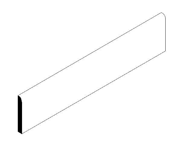 Plinthe COMPACT cream 9,5x59,7cm Ep.10,5mm