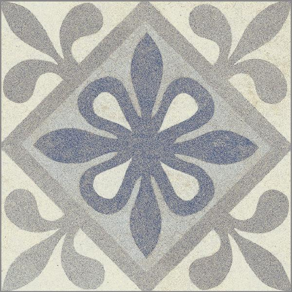 Carrelage OXIDE blue mat 14,7x14,7cm Ep.8,3mm